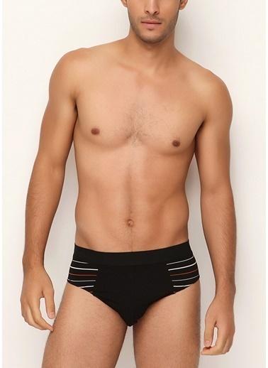 SVM Modal Erkek Slip Siyah